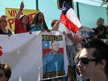 Partidarios de Pinochet