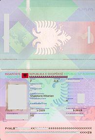 Albanian Passport Wikipedia