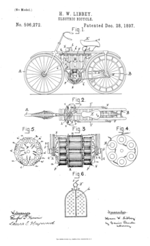 220px Patent_Electric_Bicycle electric motorcycles and scooters wikipedia