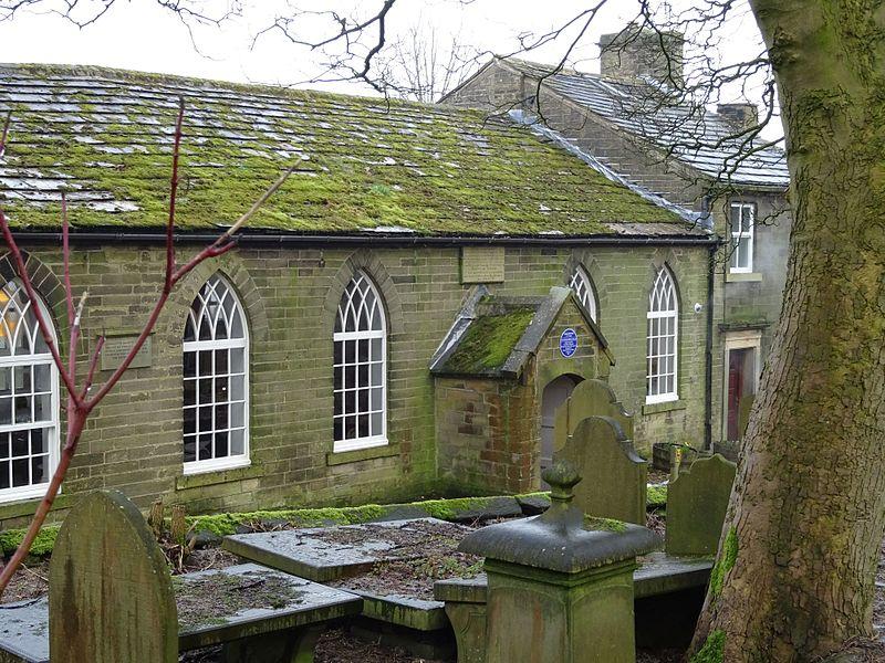 File:Patrick Bronte 1777 - 1861 The Old School Room Howarth long.jpg