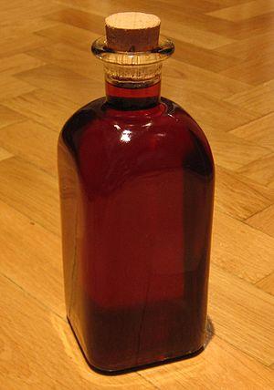 Patxaran - A bottle of homemade patxaran
