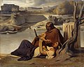 Paul Delaroche - Resting on the Banks of the Tiber - WGA6267.jpg