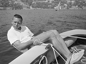 Paul Elvstrøm - Elvstrøm at the 1960 Olympics