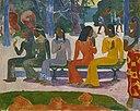 Paul Gauguin, 1892, Ta matete (Le Marché), oil on canvas, 73.2 x 91.5 cm, Kunstmuseum Basel.jpg