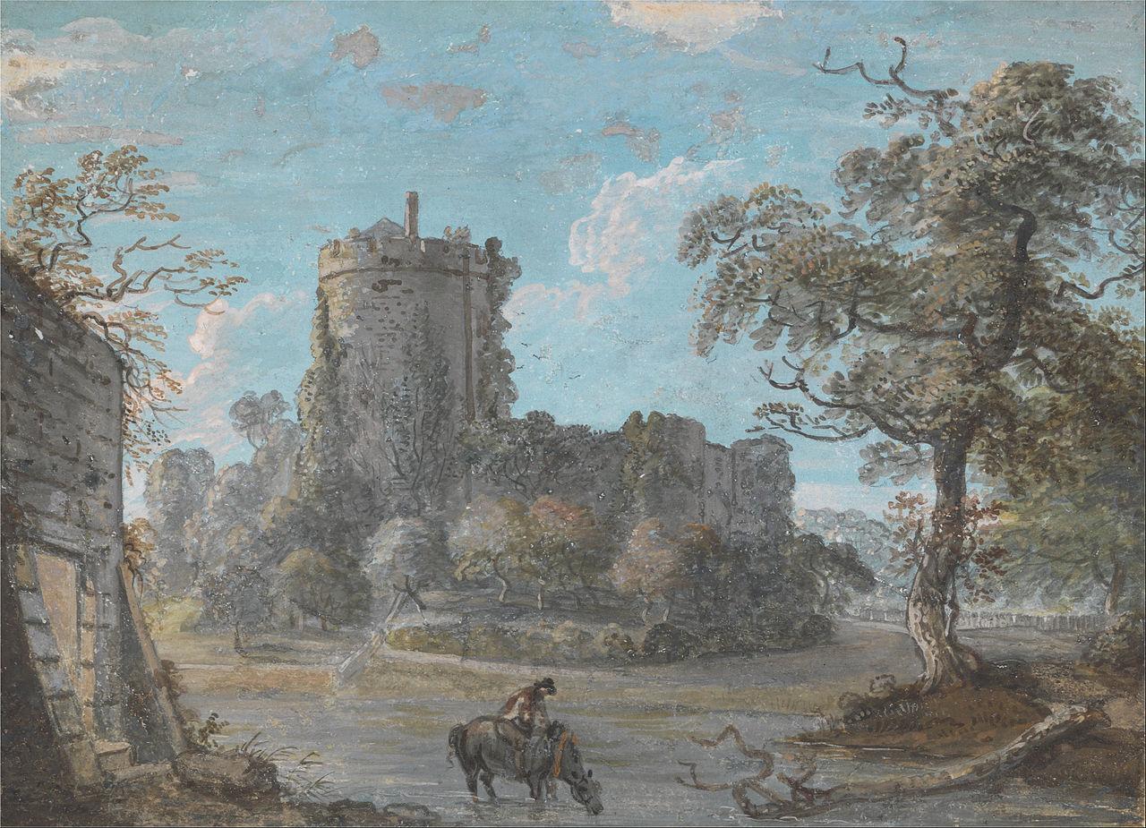 Paul Sandby - The Entrance to Chepstow Castle - Google Art Project.jpg