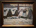 Paul gauguin, villaggio bretone sotto la neve, 1894, 01.JPG
