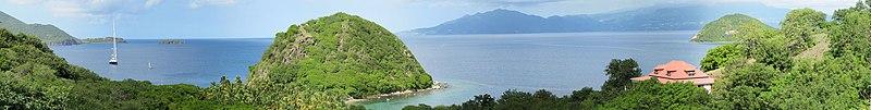 File:Paysage - vue panoramique - rocher du pain de sucre - Guadeloupe - Les Saintes.jpg