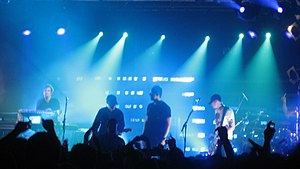 Pendulum live at the Electric Ballroom in London during their 2007 tour.