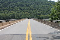 Pennsylvania Route 54 bridge over the West Branch Susquehanna River.JPG