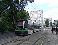 Pesa 120NaS2, tram line 5 in Szczecin, 2017.jpg
