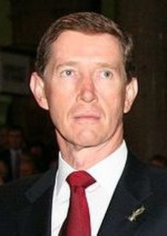 New South Wales state election, 2007 - Image: Peter Debnam At ANZAC Ceremony Sydney 26042006