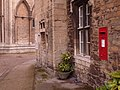 Peterborough, postbox No. PE1 134, Cathedral Green - geograph.org.uk - 1605535.jpg