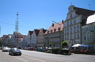 Pfaffenhofen an der Ilm Place in Bavaria, Germany