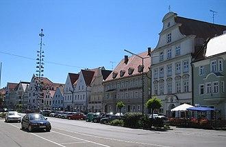 Pfaffenhofen an der Ilm - Town square