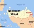 Ph locator northern samar gamay.png