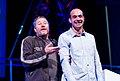 Philippe Stark and Loic at Le Web 3.jpg