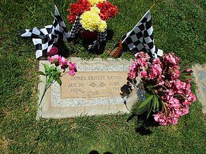 Jimmy Bryan - Image: Phoenix Greenwood Memory Lawn Cemetery James Ernest Bryan