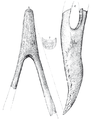 Phorusrhacos holotype sketch (Ameghino 1891).png