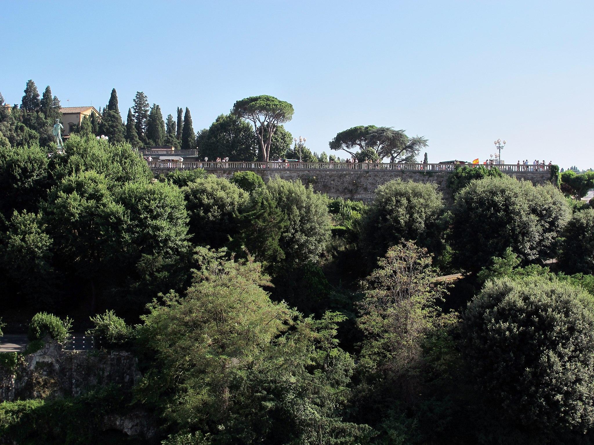 Piazzale michelangelo, veduta dalla Torre San Niccolò