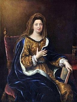 Pierre Mignard - Françoise d'Aubigné, marquise de Maintenon (1694)