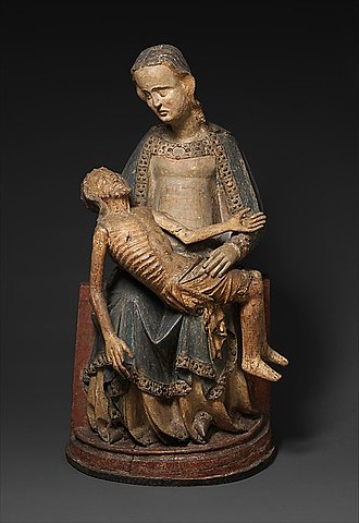 Pietà - Pietà, German, c. 1375–1400