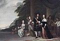 Pieter Cnoll, Cornelia van Nijenrode and their daughters, by Jacob Coeman.jpg