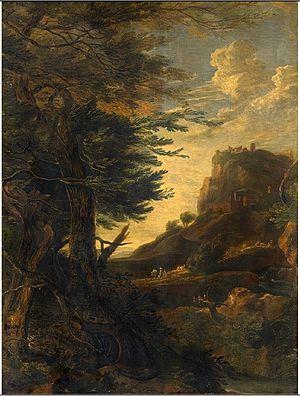 Pieter Rijsbraeck - Landscape