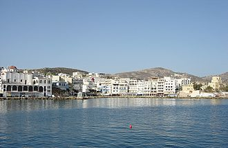 Karpathos - View of the port of Pigadia