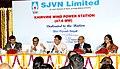 Piyush Goyal addressing at the dedication ceremony of the SJVN's 47.6 MW - Khirvire Wind Power Station to the nation, at Aurangabad, Maharashtra.jpg
