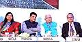 "Piyush Goyal and the Chief Minister of Haryana, Shri Manohar Lal Khattar at the ""Happening Haryana"" Global Investors' Summit, in Gurgaon.jpg"