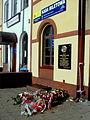 Plaque commemorating general Antoni Heda at Gdynia Chylonia train station - 1.jpg
