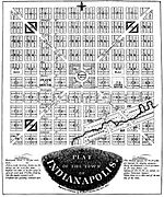 Plat of Indianapolis by Alexander Ralston.jpg