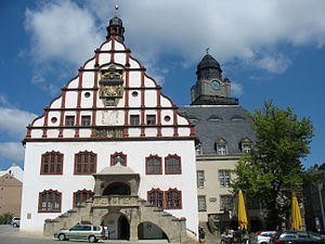 Plauen - Plauen, old townhall