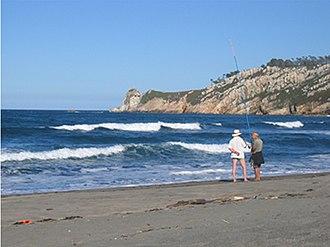Navia, Asturias - Barayo Beach.