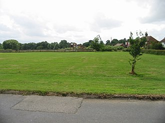 Rolvenden Layne - Image: Playing fields Rolvenden Layne geograph.org.uk 891971