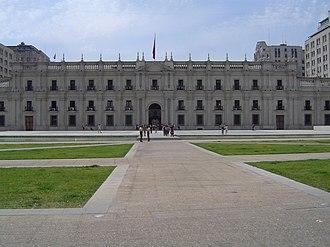 La Moneda Palace - Image: Plaza Ciudadania 1