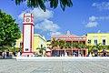 Plaza del Sol in Cozumel - tower - panoramio.jpg