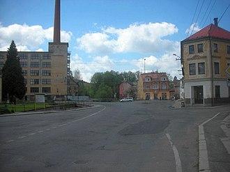 Plesná (Cheb District) - Image: Plesna zentrum