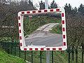 Podhoří, Pod Hrachovkou, zrcadlo u ulice Pod Sklenářkou.jpg