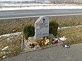 Pomník Pavola Němčáka u silnice z Lán na Slovanku (Q107161726).jpg