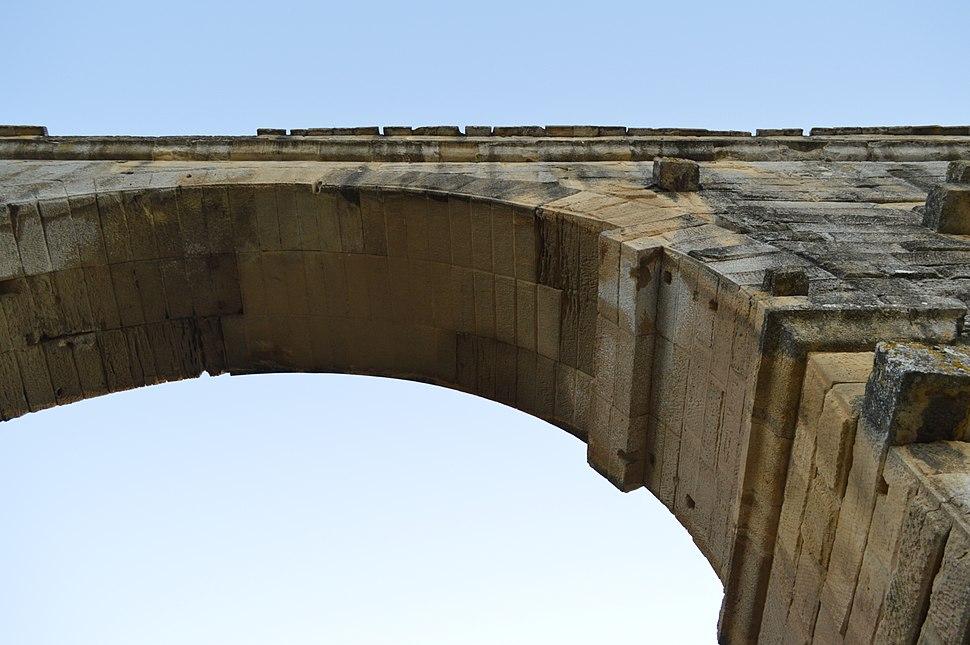Pont du Gard Arch Underside
