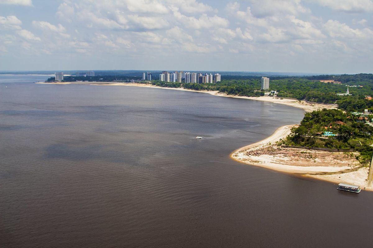Praia da Ponta Negra (Manaus) – Wikipédia, a enciclopédia