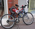 Pontoise (Val-d'Oise) little bike on bike.JPG