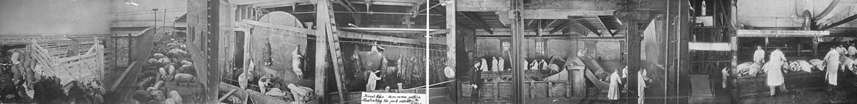 1900 panoramic image of the Chicago slaughter houses Pork panorama.jpg