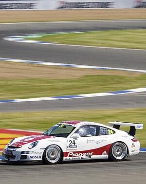 Sebastiaan Bleekemolen - Image: Porsche Michelin Supercup Sebastiaan Bleekemolen 2006