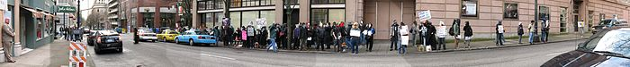 PortlandScientologyProtest15March2008 Panorama01.jpg