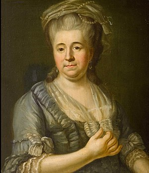 Eleonore von Grothaus - Portrait of Eleonore Freiin von Münster zur Surenburg, née von Grothaus zur Ledenburg, c. 1770