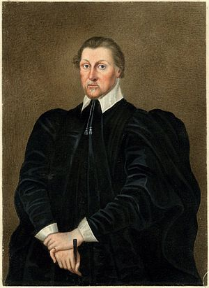 Bishop of Oxford - Image: Portrait of Richard Corbet Bishop of Norwich by Sylvester Harding