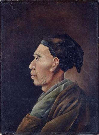 Shiba Kōkan - Portrait of Shiba Kokan by Yuichi Takahashi (1828–1894)