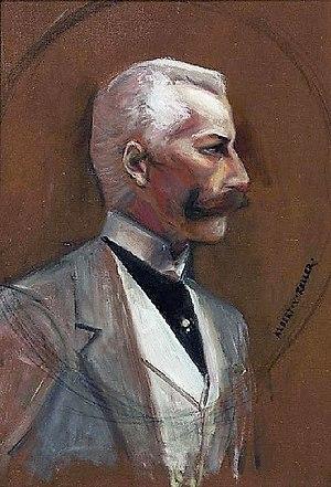 Albert von Keller - Possibly a self-portrait